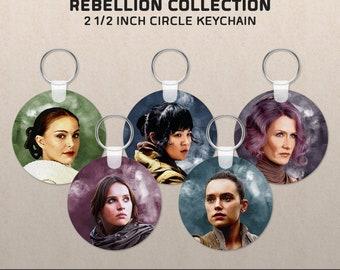 Women of The Rebellion: Star Wars-inspired Key Chain
