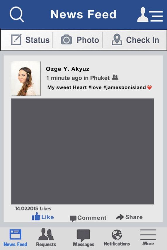 Nett Facebook Fotorahmen Zeitgenössisch - Benutzerdefinierte ...