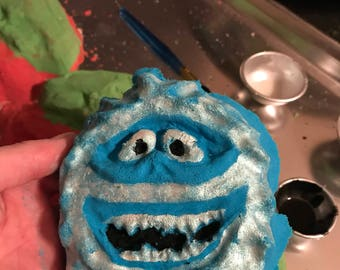 The Abominable Snowman Bath Bomb