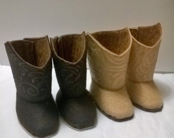 18 inch doll   Cowboy boots