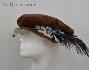 Renaissance Hat - customizable - medieval, fantasy, costume, cosplay, LARP - color options!