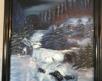 Snowy River Night