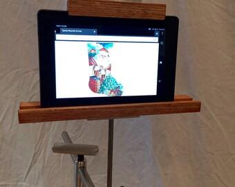 Tablet Holder For K's Stainless Steel Floor Stand