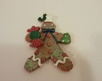 PRICES ARE NEGOTIABLE - Gingerbread Man Tree Ornament