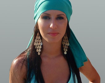 Peppermint Head Wrap % Cotton /Scarves /Bandana