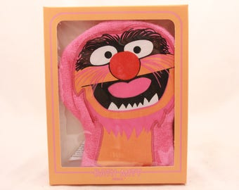 "Vintage/New 1981 Hallmark Party ""Animal"" Bath Mitt. Groucho"