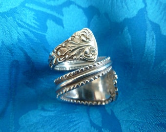 Spoon Ring, Sterling Silver, Vintage, Size 6,  Graduation Gift, Mother's Day, Birthday Gift