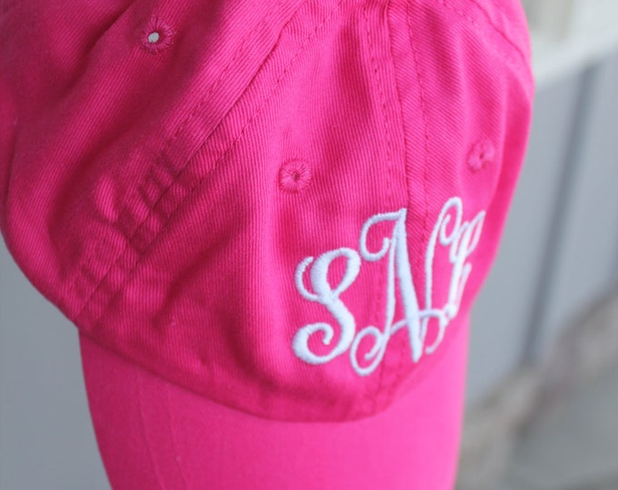 Toddler Customized Monogram Personalized Embroidered Infant/Toddler/Youth/Children/Kids Baseball Sports Sun Cap Hat Visor Choose Your Color