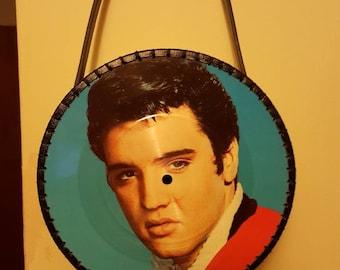 Elvis Presley vinyl record purse