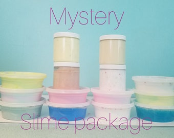 Mystery slime package ~ Blind box ~ Mystery Grab Bag ~ 2 ounce slimes
