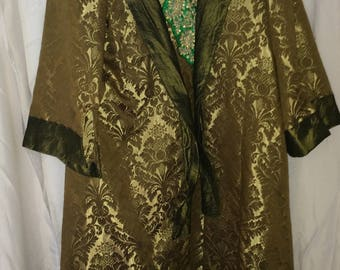 Green Coat Theatrical Costume