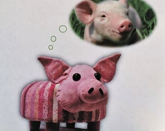 Rosie the Pig Tuffet