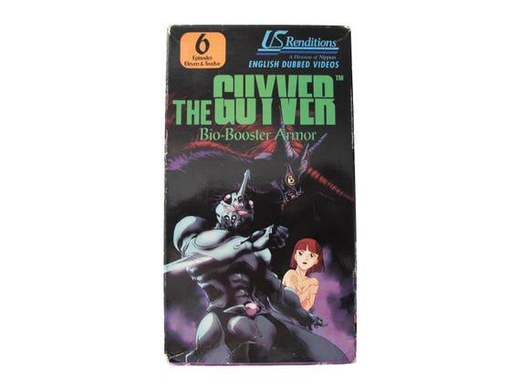 The Guyver VHS