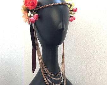 Goddess Festival Floral Headdress