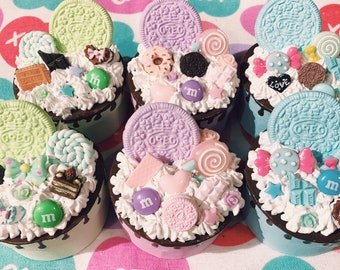Pastel Cute Sweets Decoden Box Trinket Whipped Cream