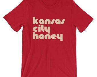 Kansas City honey tee | Kansas City apparel | KC honey tee | KC apparel | Kansas City t-shirt | K C t-shirt | Kansas City shirt | KC shirt