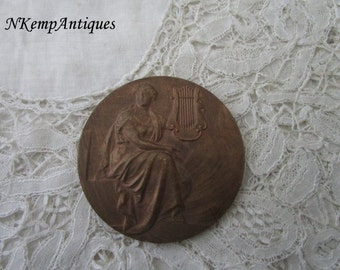 Antique medal/plaque