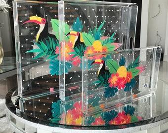 Toucan Acrylic Tray