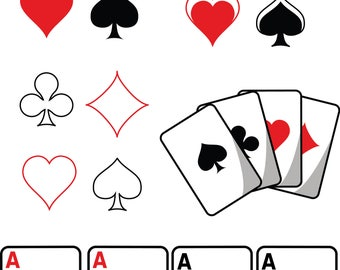 playing cards svg etsy rh etsy com deck of cards clipart black and white deck of cards clip art free