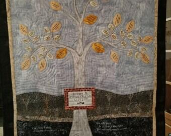 Family Tree Quilt - Custom