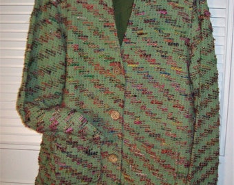 Jacket Medium, Brocade Jacket,JUST REDUCED ! The Territory Ahead Vintage Find. Versatile All-Around Jacket, - see details