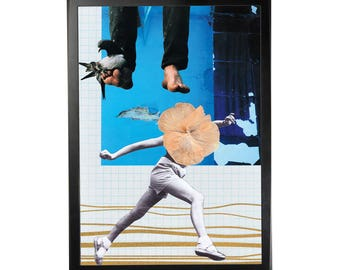 Art print poster collage DADA #12 in A3 (29, 7x42cm)