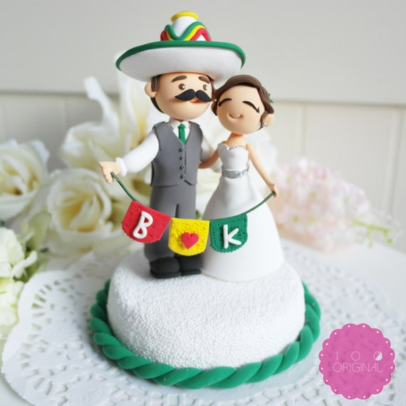 mexican themed wedding cakes custom cake topper mexican theme 17283
