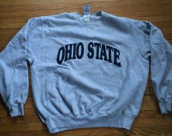 Vintage The Ohio State University Buckeyes Champion Heavy Oversize Sweatshirt