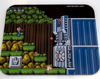 NES Mouse Pad - Contra