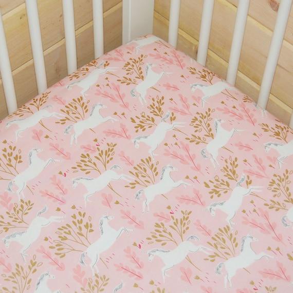 licorne b b fille linge de lit drap de lit de b b licorne. Black Bedroom Furniture Sets. Home Design Ideas