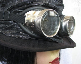 The Traveller Steampunk Top Hat Goggles SteamCon
