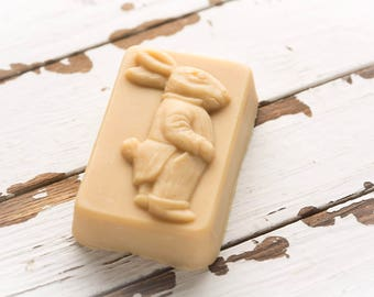 Organic goat milk soap for Easter or Springtime