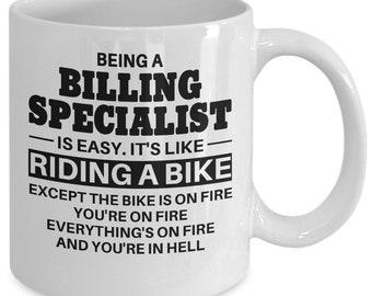 Billing Specialist, Billing Specialist Mug, Billing Specialist Gift, Billing Specialist Coffee Mug, Mug for Billing Specialist
