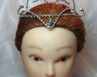 Lilac Fairy Ballet Headpiece. Crystal and silver tiara. Sugar Plum Fairy. Sleeping Beauty Ballet. Cinderella. Ready to Ship!
