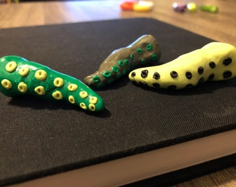 Lot of Three Tentacle Ornaments
