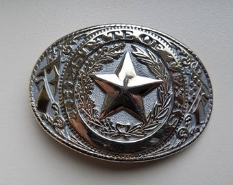 State of Texas Belt Buckle