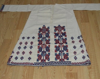 """EMBROIDERED nomads clothing      width with arm = 56"""" (140 cm)  height = 44"""" (110 cm)"""