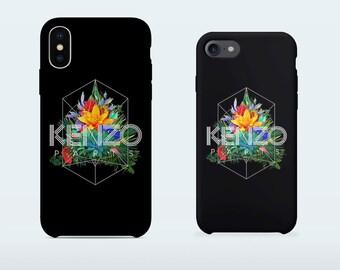Kenzo phone case for iPhone X iPhone 8 Plus 7 Plus iPhone 6 6S Plus iPhone 5 5S SE Samsung Galaxy S7 Edge S8 Plus