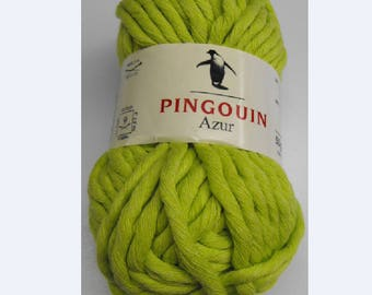 WOOL PENGUIN BLUE 50% COTTON 50% ACRYLIC GREEN 50G FINGERING 9 / / 69