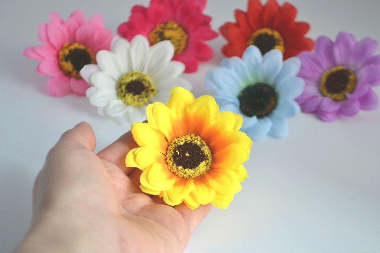 Yellow Flowers Rustic Flowers Artificial Sunflowers Wreath