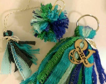 Mermaid tassel set