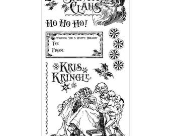 Graphic 45 Cling Stamps - St. Nicholas 3