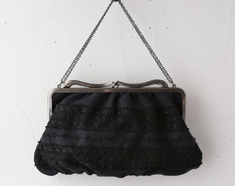 Vintage Style clutch bag, evening bag Pochette Emilia