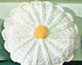 Vintage Daisy Pillow Pattern
