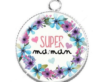 Resin cabochon pendant for MOM s5