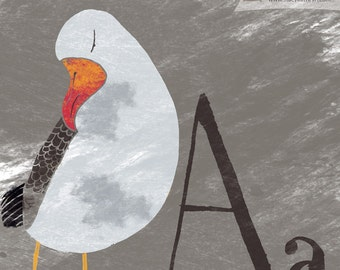 Pick Your Favorite Birds Print - A to Z Alphabet You Pick the Letter