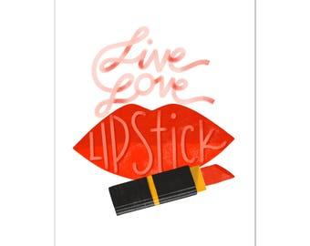 Live Love Lipstick!