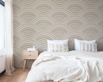 Temporary Wallpaper, Removable Wall Decor, Peel and Stick Wallpaper, Fabric Wallpaper, Removable, Wall Paper Removable, Wallpaper - A140