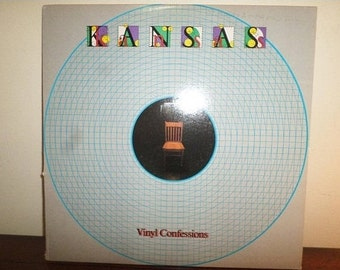 Vintage 1982 LP Vinyl Record Kansas Vinyl Confessions Near Mint Condition Kirshner Records 11199
