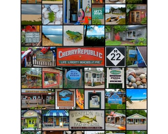 Glen Arbor, Michigan and Sleeping Bear Dunes National Lakeshore
